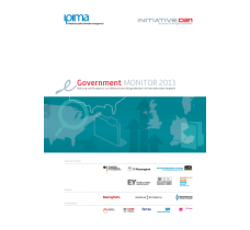 eGovernment Monitor 2013