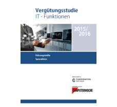 Vergütungsstudie IT-Funktionen 2015/2016